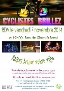 AfficheCyclistesBrillez