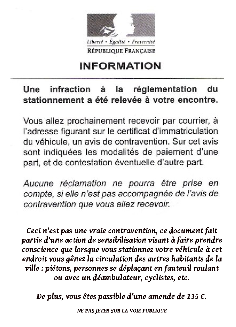 Informer Sensibiliser Bapav Brest A Pied Et A Velo